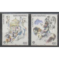 Saint-Marin - 1982 - No 1055/1056 - Histoire - Europa