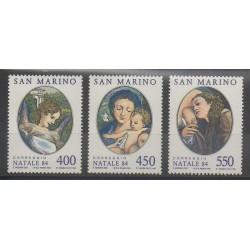 Saint-Marin - 1984 - No 1104/1106 - Noël