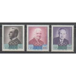 Saint-Marin - 1984 - No 1087/1089 - Jeux Olympiques d'été