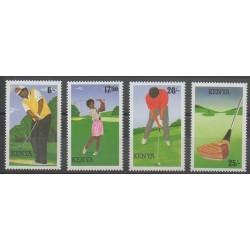 Kenya - 1995 - No 605/608 - Sports divers