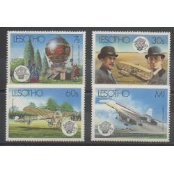 Lesotho - 1983 - Nb 545/548 - Planes
