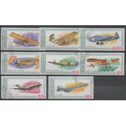 Guinée - 1979 - No 638/645 - Aviation - Oblitéré
