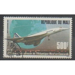 Mali - 1988 - No PA534 - Aviation - Oblitéré