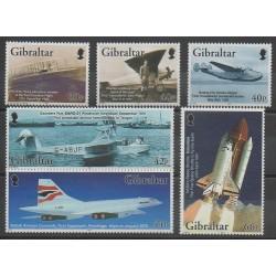 Gibraltar - 2003 - Nb 1037/1042 - Planes