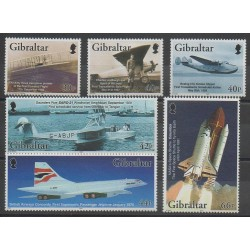 Gibraltar - 2003 - No 1037/1042 - Aviation