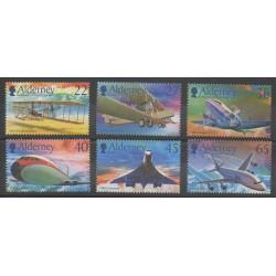 Aurigny (Alderney) - 2003 - Nb 207/212 - Planes