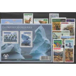 Andorre - Année complète - 2009 - No 666/680 - BF2
