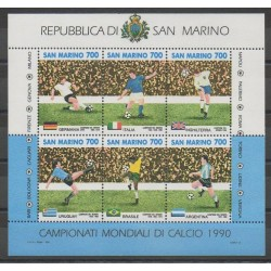 Saint-Marin - 1990 - No BF16 - Coupe du monde de football