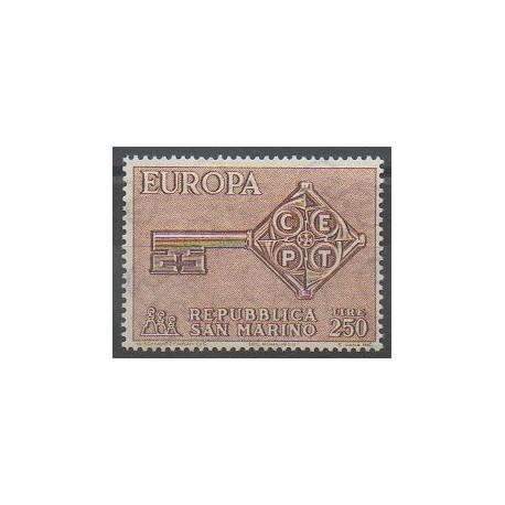 Saint-Marin - 1968 - No 720 - Europa