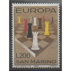 Saint-Marin - 1965 - No 654 - Échecs - Europa