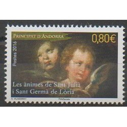 French Andorra - 2016 - Nb 792 - Paintings
