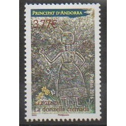 French Andorra - 2016 - Nb 781 - Literature
