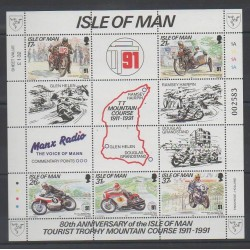 Man (Ile de) - 1991 - No BF16 - Motos