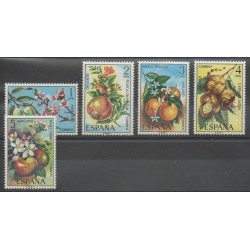Spain - 1975 - Nb 1898/1902 - Fruits