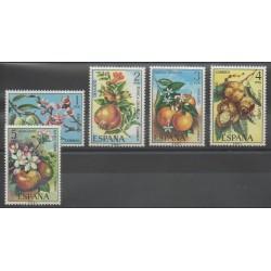 Espagne - 1975 - No 1898/1902 - Fruits