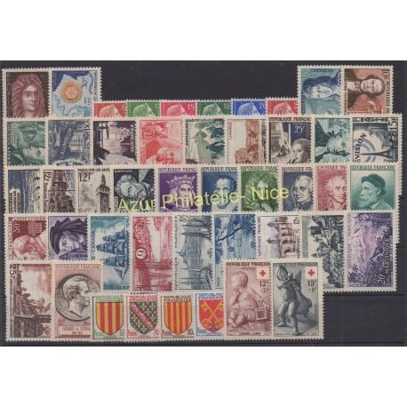 France - 1955 - Nb 1008/1049