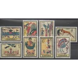 Espagne - 1975 - No 1930/1937 - Art