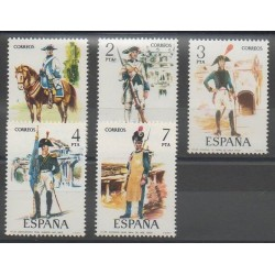 Spain - 1975 - Nb 1921/1925 - Military history