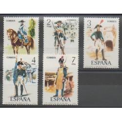 Espagne - 1975 - No 1921/1925 - Histoire militaire