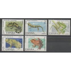 Spain - 1975 - Nb 1916/1620 - Reptils
