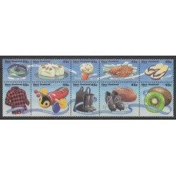 New Zealand - 1994 - Nb 1287/1296 - Gastronomy