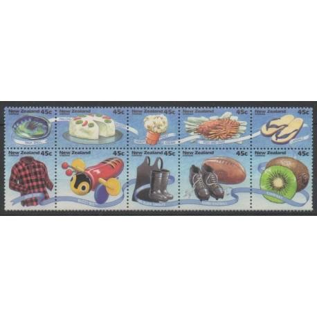 Nouvelle-Zélande - 1994 - No 1287/1296 - Gastronomie