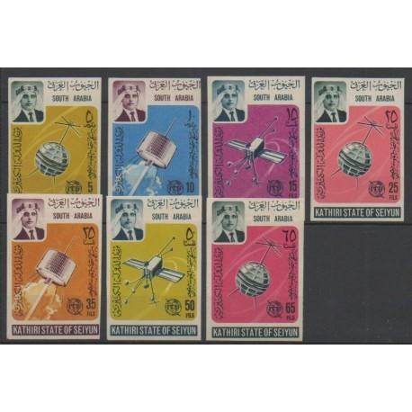 Yémen - Kathiri - 1966 - No 84/90ND - Télécommunications