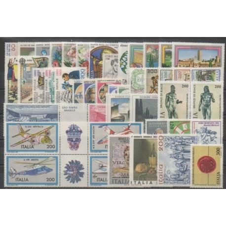 Italie - Année complète - 1981 - No 1474/1518