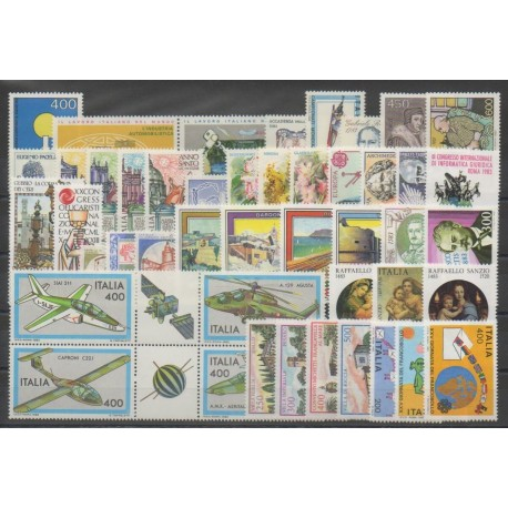 Italie - Année complète - 1983 - No 1554/1598