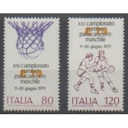 Italie - 1979 - No 1394/1395 - Sports divers