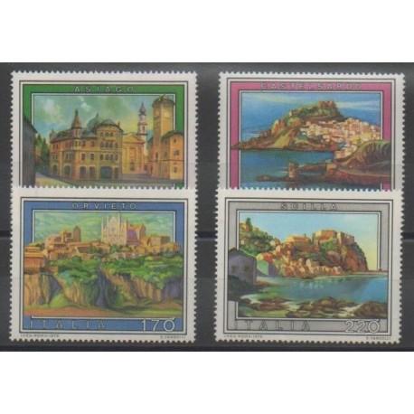 Italie - 1979 - No 1380/1383 - Peinture