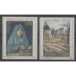 Italie - 1979 - No 1377/1378 - Peinture