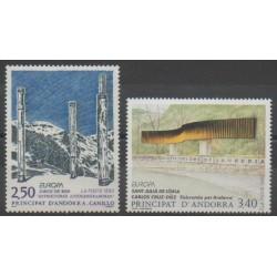 French Andorra - 1993 - Nb 430/431 - Art - Europa