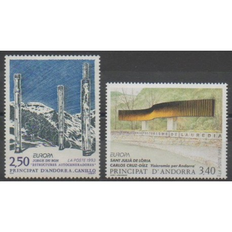 Andorre - 1993 - No 430/431 - Art - Europa