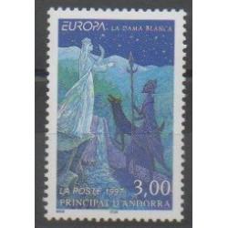 Andorre - 1997 - No 487 - Littérature - Europa