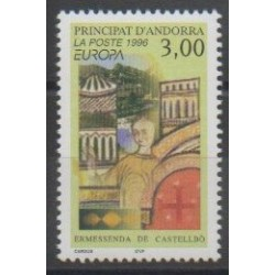 French Andorra - 1996 - Nb 476 - Celebrities - Europa