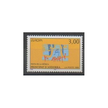 Andorre - 1998 - No 504 - Musique - Europa