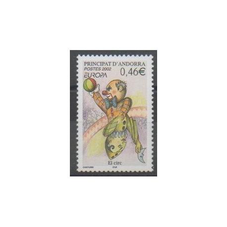 Andorre - 2002 - No 569 - Cirque - Europa