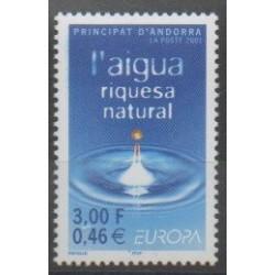 Andorre - 2001 - No 546 - Europa
