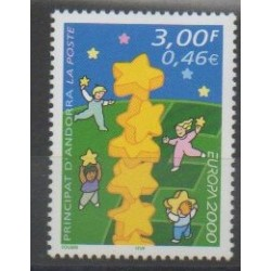 French Andorra - 2000 - Nb 529 - Europa