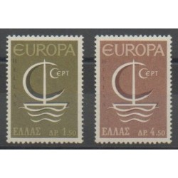 Greece - 1966 - Nb 897/898 - Europa