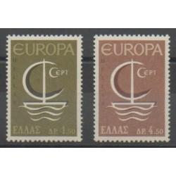 Grèce - 1966 - No 897/898 - Europa