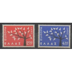 Grèce - 1962 - No 774/775 - Europa