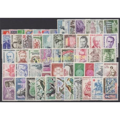 France - 1960 - Nb 1230/1280