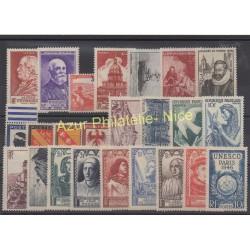 France - 1946 - Nb 748/771