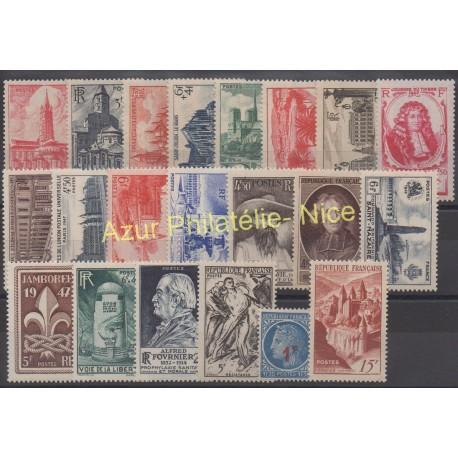 France - 1947 - No 772/792