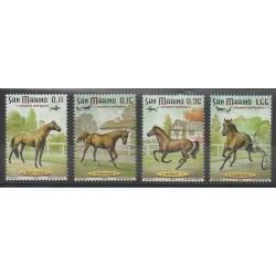 San Marino - 2003 - Nb 1880/1883 - Horses