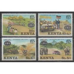 Kenya - 1977 - No 74/77 - Voitures