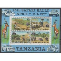 Tanzania - 1976 - Nb BF5 - Cars