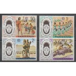 Tanzania - 1977 - Nb 68/71 - Art